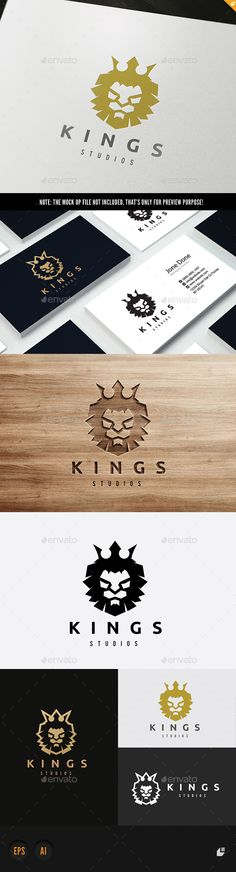 Kings Logo Design Template Vector #logotype Download it here: http://graphicriver.net/item/kings-logo/15879681?s_rank=512?ref=nexion