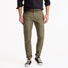 Textured cotton chino in 484 fit : 484 | J.Crew