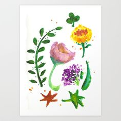 A painting about spring, and a bit of imperfections.