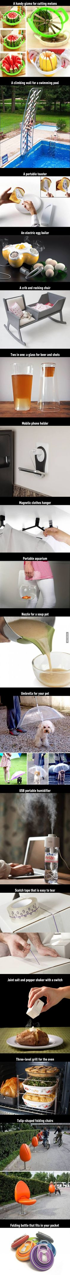 17 new and incredibly brilliant inventions that we should definitely manufacture! - 9GAG