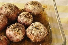 Salt & Pepper Red Potatoes - so yummy!