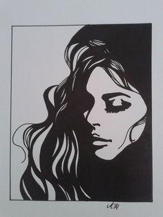 black marker drawing