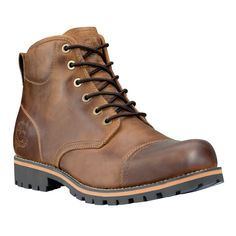 Timberland - Men's Earthkeepers® Rugged Cap Toe Waterproof Boot