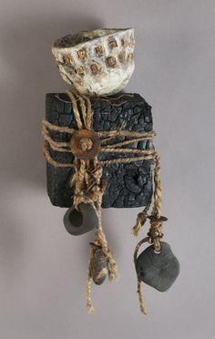 Shannon Weber , Oregon Woven & Sculpted Encaustic 3D Mixed Media