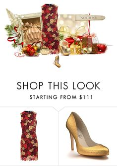 """Christmas party dress"" by noconfessions ❤ liked on Polyvore featuring Glamorous and Shoes of Prey"
