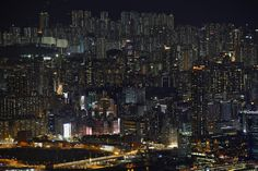 Public and private residential blocks line a hillside in Hong Kong. (Reuters/Bobby Yip)Chinese Architecture, Old and New - In Focus - The Atlantic Hong Kong Architecture, Chinese Architecture, Modern Architecture, Tokyo Skyline, New York Skyline, Ap Human Geography, Tokyo Night, Night City, Urban Landscape