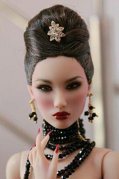 by desu 1 Lifelike Dolls, Realistic Dolls, Beautiful Barbie Dolls, Pretty Dolls, Doll Wigs, Doll Hair, Diva Dolls, Art Dolls, Fashion Royalty Dolls