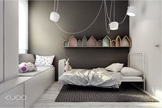 Chambre ado maisons Bloomingville Fawn and forest via Nat et nature