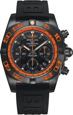La Cote des Montres : La montre Breitling Chronomat 44 Raven - La performance incarnée