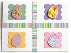 hand made easter cards - Google Search