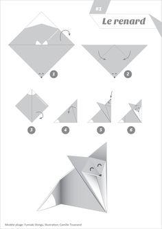 La maison du renard: Origami Renard