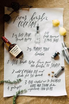 Winter cocktail party inspiration | 100 Layer Cake | Bloglovin'