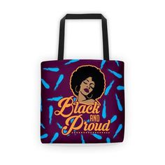 Stand out from the crowd with this all-over print tote. Your perfect sidekick for a trip to the grocery store, the beach, the library,. Reusable Tote Bags, Accessories, Collection, Black, Black People, Jewelry Accessories