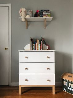 Ikea Tarva dresser hack for Saoirse's room Ikea Tarva Dresser, Dresser As Nightstand, Riverside Drive, Table, Room, Furniture, Home Decor, Bedroom, Decoration Home