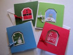 Card Corner by Candee: 3 x 3 Cards