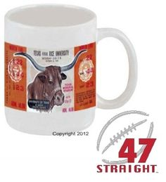 Texas football gifts! $29.99 for a set of 6 1969 Texas Football Ticket Mugs.™ Unique Cyber Monday Gifts, Cyber Monday Gift Ideas, football ticket mugs, Best Cyber Monday Gifts 2012