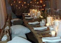 Rustic Dinner Party Decor