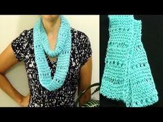 Cómo Tejer Bufanda Cerrada Primavera 2 Agujas (256) Scarf, Youtube, Knitting, Videos, Fashion, Tricot, Crochet Shawl, How To Knit, Scarf Crochet