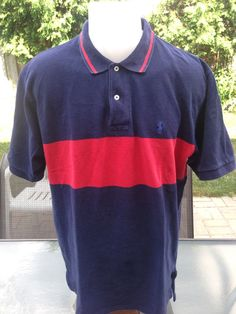 Vintage Navy Blue & Red Short Sleeve Polo by Ralph Lauren by MajorDivision on Etsy https://www.etsy.com/listing/241987591/vintage-navy-blue-red-short-sleeve-polo