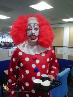 Scary Pennywise Clown Costume... Coolest Homemade Costumes