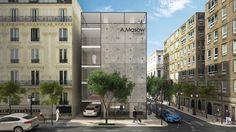 A.Masow hotel by Aibek Almasov, via Behance