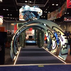More than 560 people visited us at booth 1378 only on the first day at IAAPA Attractions Expo. Polin Waterparks' has the second largest booth on the event so there is enough place for everyone. Help us and let's set a record for A 17, Trade Show, North America, Attraction, Two By Two, People, People Illustration, Folk