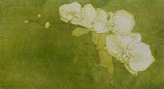 "Cameron Fraser; Printmaking, ""Orchideas"" #art"