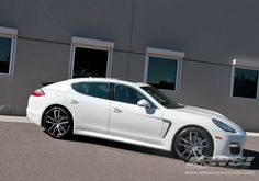 Porche Panamera with Giovanna Forged Crewe wheels