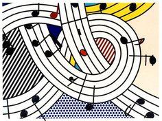 Roy Lichtenstein - Composition