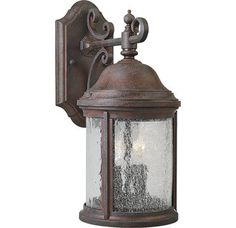 Progress Lighting P5649 Traditional / Classic 2 Light Outdoor Wall Sconce from the Ashmore Collection $63.00