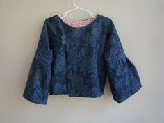 Oliver + S Firefly Jacket sewing pattern sewn by HeirloomFarmhouse, via Flickr