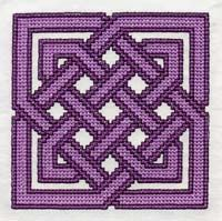 Waldorf ~ 4th grade ~ Handwork ~ Cross Stitch Pattern