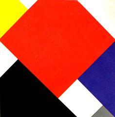 Van Doesburg - Composition V - 1924