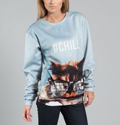 Sweat Catty Bleu Clair Aloha From Deer en vente chez L'Exception