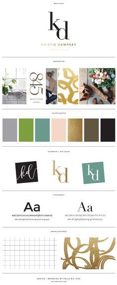 Kirstie Dempsey Brand Design — Hello Big Idea
