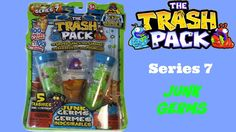 The Trash Pack Series 7 Junk Germs 5 Trashies #Unboxing #Opening #TrashPack #BlindBags #TheTrashPack #SurpriseToys