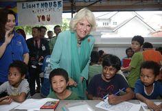 Duchess Camilla visited Lighthouse Children's Welfare Home