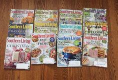 Lot Of 12 Southern Living Magazines Jan - Dec 2014 Great Shape  | eBay