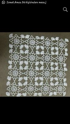connie rhodes's media content and analytics Cotton Crochet, Crochet Motif, Crochet Flowers, Crochet Lace, Crochet Patterns, Wedding Fabric, Ivory Wedding, Lace Table Runners, Snowflake Ornaments