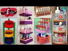 OrganizationIdeas Hello everyone, In this video, we have shown 11 easy and fast home and kitchen organization craft idea. You can also try this craft idea to & source The post 11 Best Home And Kitchen Organization Ideas Small Bedroom Organization, Craft Organization, Craft Storage, Organizing Ideas, Storage Shelves, Food Storage, Home Crafts, Easy Crafts, Diy Hidden Storage Ideas