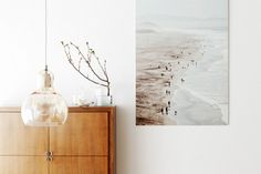 Home Tour: Ladylike Scandinavian Simplicity// beach photography