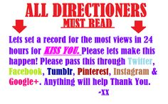 PASS IT ON! PLEASE!! http://www.youtube.com/user/OneDirectionVEVO?feature=g-subs-u
