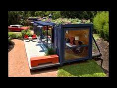 Super house container homes green life 21 ideas Container Home Designs, Container House Plans, Exterior House Siding, Facade House, Art Studio At Home, Home Art, Home Design Plans, Home Interior Design, Exterior Design