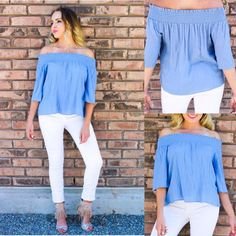 Absolutely one of our all time favorite Off- Shoulder Top! Our Simply Yours- Off Shoulder Top comes in slate blue color. Don't wait! Use Limited Summer code for 15% off your entire order: hotsummer15  Top: http://www.safirestyle.com/collections/tops/products/simply-yours-off-shoulder-top . . . . . . . . . . #safirestyle #bestoftheday #offshoulder #slate #cute #love #girl #summer #discount #shopping #smile #fashion #fashionista #instafashion #style #instastyle #instagood #ootd #tbt #outfit...