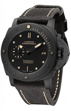 PAM508 - LUMINOR SUBMERSIBLE 1950 3 DAYS AUTOMATIC CERAMICA - 47mm