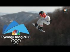 2018 Winter Olympics: Red Gerard's full gold medal run in snowboard slopestyle Red Gerard, 2018 Winter Olympics, Lake George, Winter Fun, Olympians, Figure Skating, Snowboarding, Baseball Cards, Running