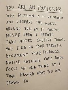 Mission Statement... and a darn good one at that.