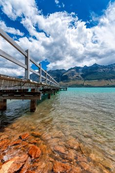 Glenorchy Pier is one of the most charming places of New Zealand's South Island.