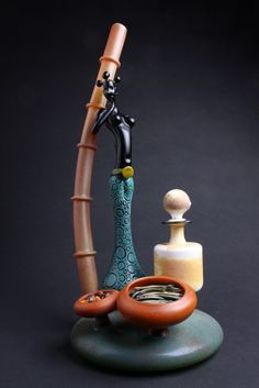 JAG borosilicate glass pipe heady