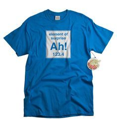 funny+science+t-shirts | Geekery T shirt periodic element funny science shirt…